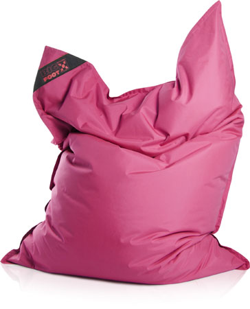 sitting point by magma bean bag big foot scuba bean bag pink 130 170 ebay. Black Bedroom Furniture Sets. Home Design Ideas